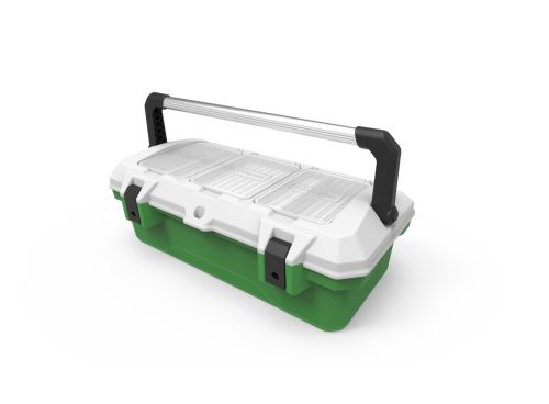 medical portable box handle open