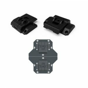 DuraTough Short Base Load-bin Bracket Set